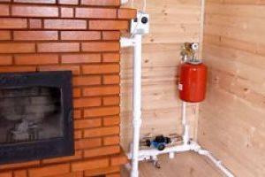 Водяное печное отопление частного дома своими руками
