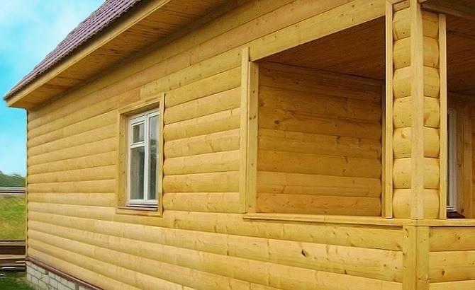 Блок-хаус для облицовки