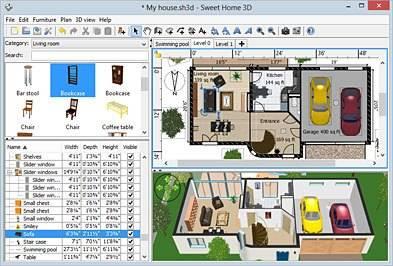 Детализация планировки дома