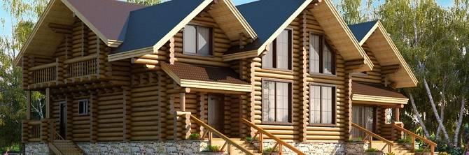 Дом из рубленого бревна