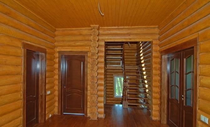 Дом под ключ из оцилиндрованного бревна в Орле