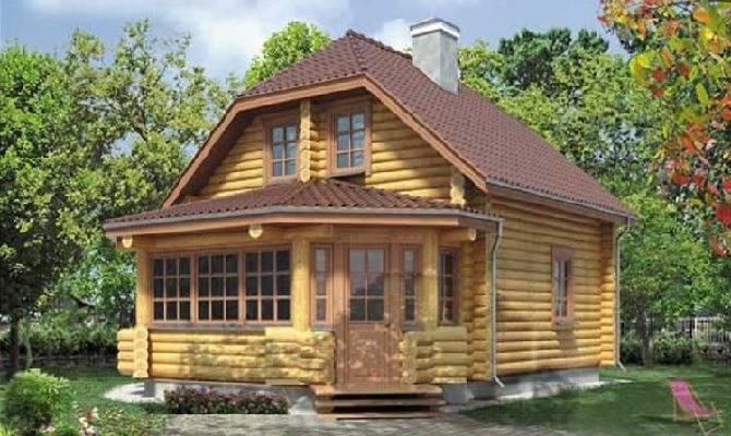 Дом в стиле русская изба