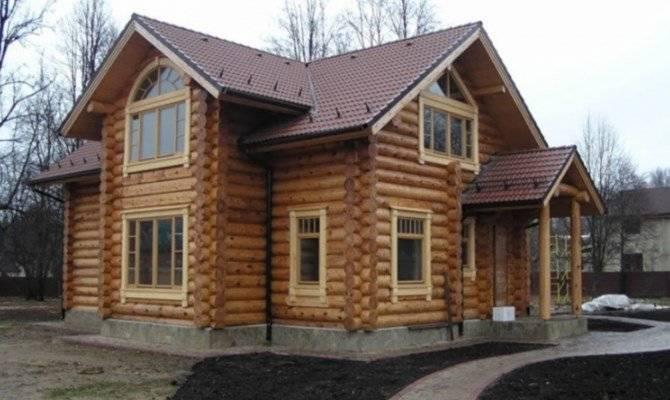 Дома из оцилиндрованного бревна от ПСК Владимир