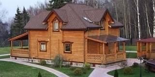 Дома из оцилиндрованного бревна в Иваново