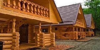Дома из оцилиндрованного бревна в Новороссийске