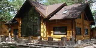 Дома из оцилиндрованного бревна Владимирской области