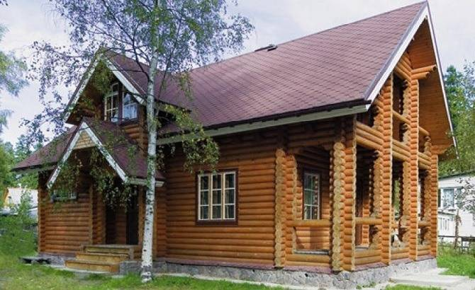 Дома от компании Деревянный Дом
