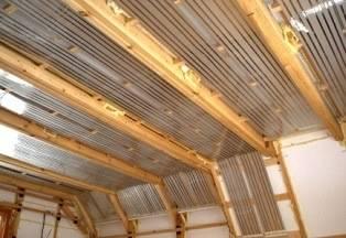 Инфракрасное отопление потолка