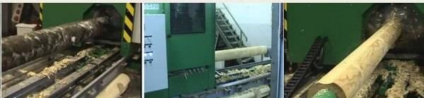 Изготовление оцилиндрованного бревна ООО ДСК Паин Хаус