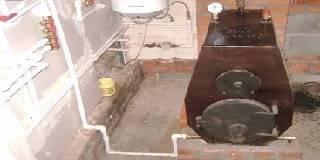 Котёл водяного отопления своими руками