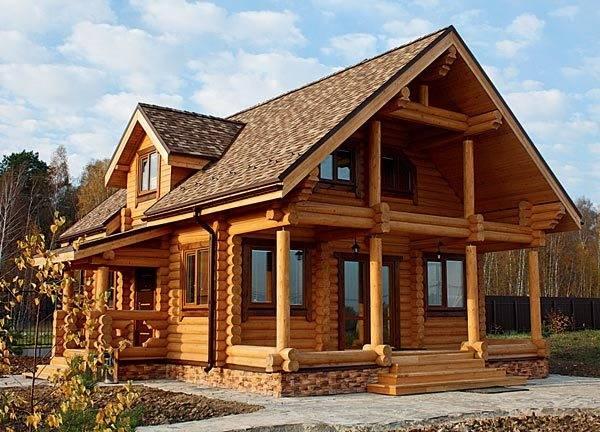 Кровля для деревянного дома
