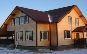 Технология постройки дома из бруса своими руками