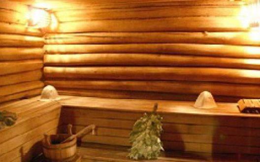 Как построить баню из оцилиндрованного бревна своими руками