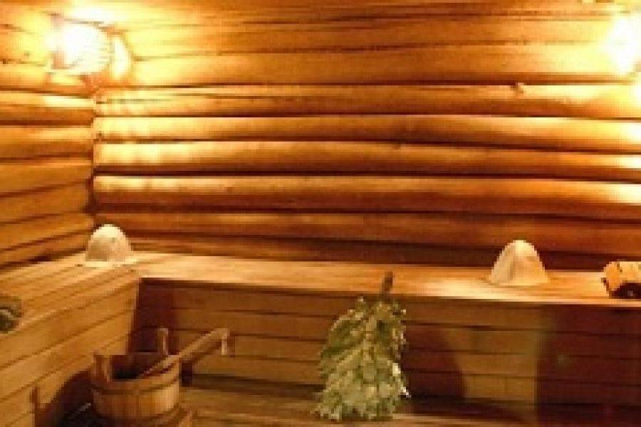 Строительство бани из оцилиндрованного бревна — Строительство бани своими руками (видео и фото)