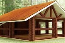 Как построить баню с верандой своими руками