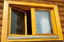 Каким цветом красят окна в деревянном доме на даче