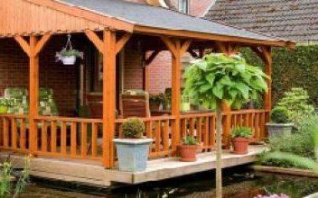 Защита деревянной веранды: чем покрыть