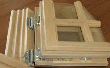 Деревянные евроокна со стеклопакетом: сосна или лиственница лучше
