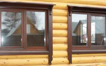 Деревянные окна со стеклопакетом для дачи -выбор окон эконом-класса