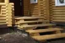 Деревянные ступеньки к крыльцу своими руками: расчёт ступеней