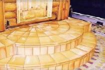 Полукруглое деревянное крыльцо в свой дом: технология