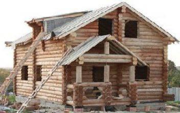 Во что обойдётся строительство дома из оцилиндровки 6 × 9