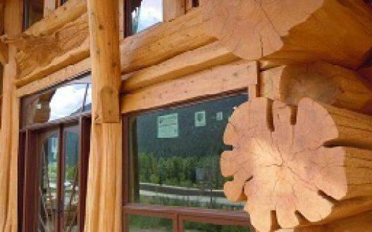 Рубленные дома из бревна большого диаметра - эксклюзивный сруб