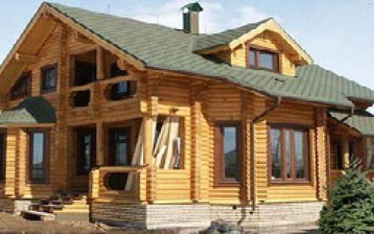 Как построить дом из оцилиндрованного бревна своими руками