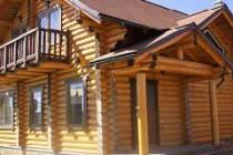 Срубы домов из оцилиндрованного бревна в Кемерово: выбор фирмы