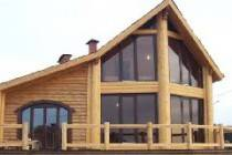Как построить деревянный дом из оцилиндрованного бруса