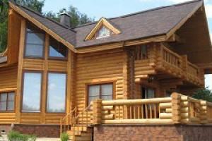 Строительство домов из оцилиндрованного бревна в Иркутске: производители