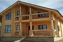 Строительство домов из профилированного сухого бруса