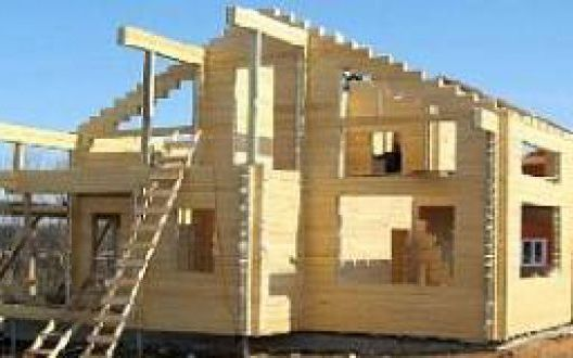 В чём отличие строительства дома из сухого бруса