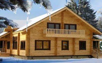 Брусовой дом - зимняя стройка: плюсы и минусы