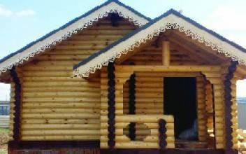 Дом из оцилиндрованного бревна 6 × 6 или 6 × 7: особенности
