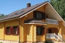 Строительство домов из оцилиндрованного бревна в Нижнем Новгороде