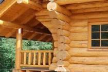 Строительство домов из оцилиндрованного бревна в Томске