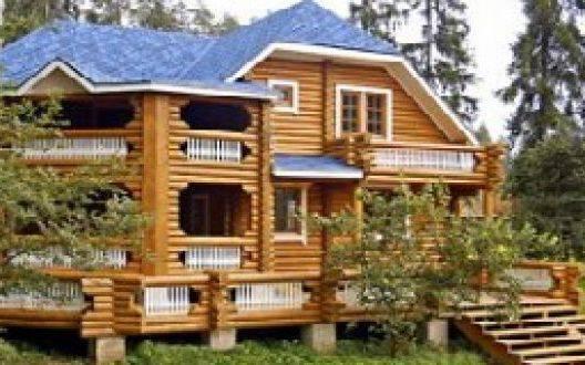 Дома из оцилиндровки в Ростове: обзор застройщиков деревянного домостроения