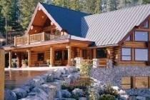 Элитные дома из оцилиндровки кедра: экологичность и долговечность