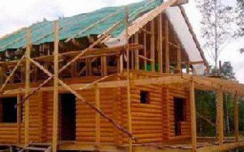 Сроки и этапы строительства дома из оцилиндрованного бревна