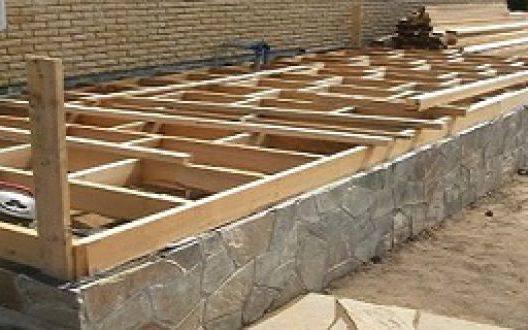 Как правильно залить фундамент под веранду: порядок работ