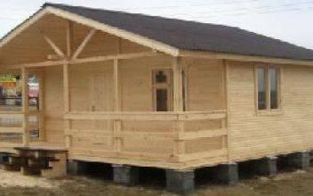Каркасный дом 6х6 - вариант строительства недорого дома