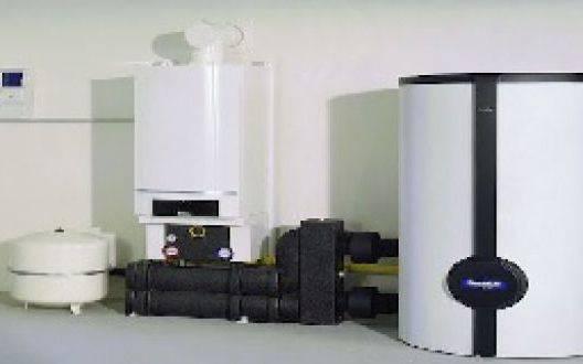 Комбинированный котёл отопления: твердое топливо и газ