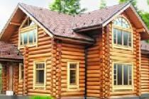 Строительство домов из оцилиндрованного бревна в Красноярске