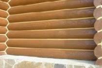 Как правильно конопатить дом из оцилиндрованного бревна