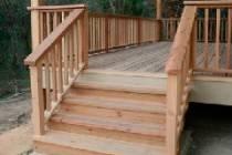 Как сделать лестницу на веранду дома: кирпичную или деревянную