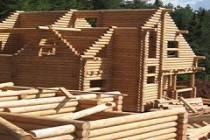 Монтаж дома из оцилиндрованного бревна: средние расценки на работы