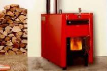 Монтаж котла отопления на твёрдом топливе в частном доме