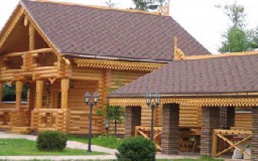 Как построить красивый и недорогой дом из оцилиндрованного бревна