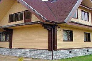 Утепление фасада - отделка сайдингом домов из бруса